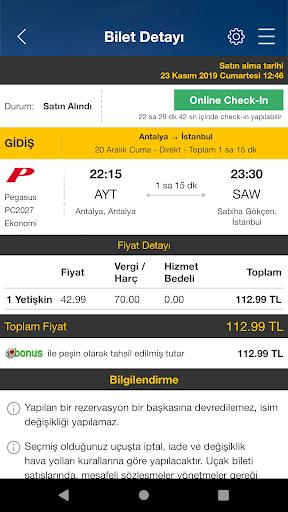 Ucuzabilet - Flight Tickets 3.1.8 Screenshots 7
