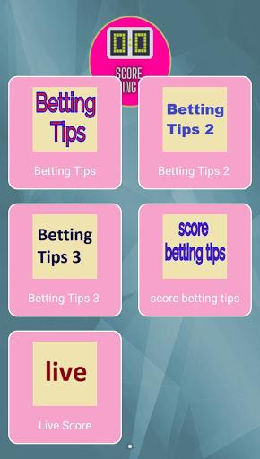 score betting tips screenshot 1