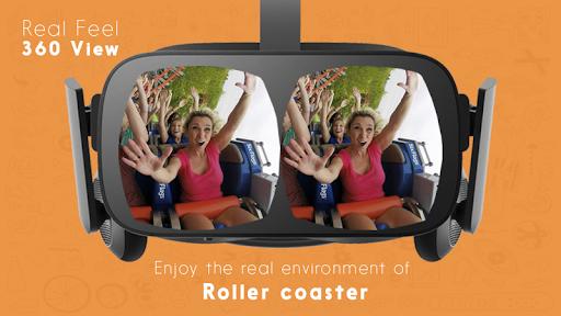 Télécharger Gratuit Roller Coaster 360 VR apk mod screenshots 1