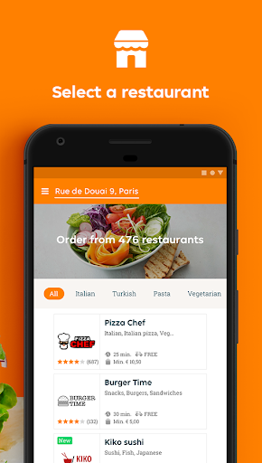 Just Eat France - Food Delivery  screenshots 2