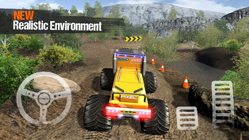 Offroad 4x4 Monster Truck Extreme Racing Simulator apkmartins screenshots 1