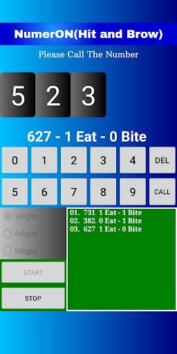 Code Triche Hit&Brow(NumerON) (Astuce) APK MOD screenshots 1