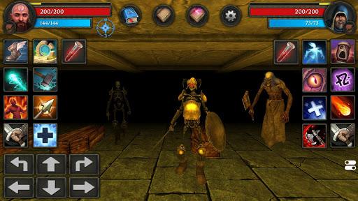 Moonshades: dungeon crawler RPG game  screenshots 3