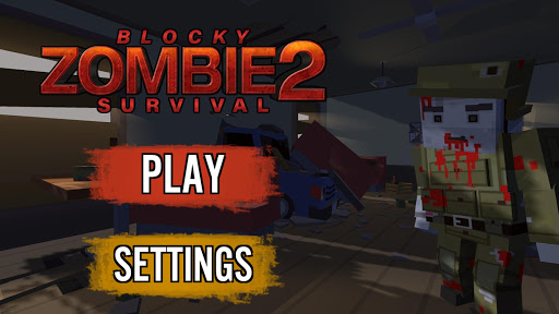 Blocky Zombie Survival 2 1.3 screenshots 2