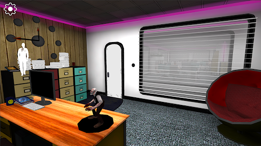 Smiling-X Horror game: Escape from the Studio  screenshots 1