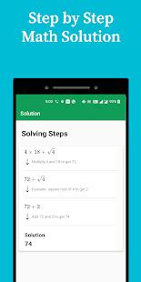 inMath — Math Solver, All Math Formula & Tricks
