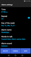 Talk! Alarm Clock for Free