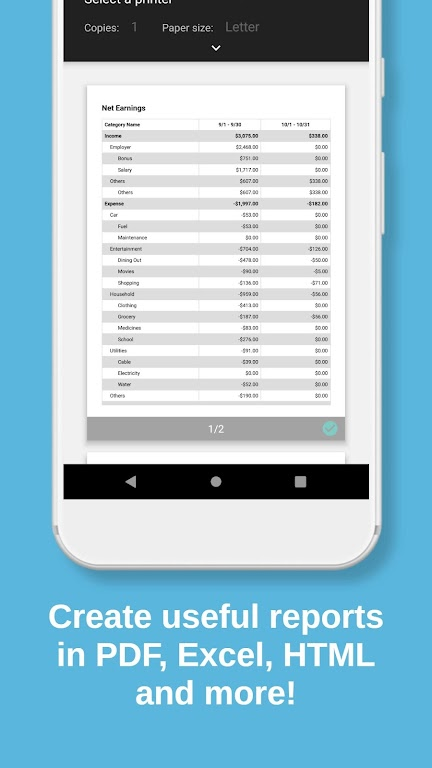 Bluecoins Finance: Budget, Money & Expense Manager  poster 2