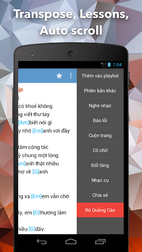 Hop Am Chuan - Guitar Tabs and Chords android2mod screenshots 3