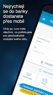 ČSOB Smartbanking Screenshot