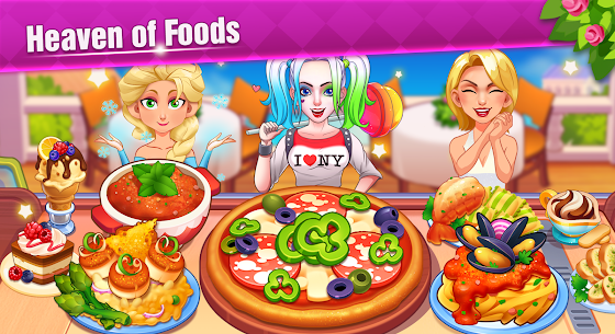 Cooking Family :Craze Madness Restaurant Food Game 5