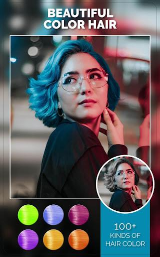 Change Hair And Eye Color apktram screenshots 8