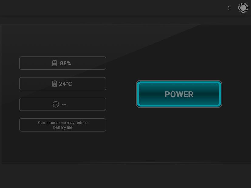 Captura de Pantalla 6 de Linterna - Tiny Flashlight ® para android