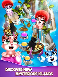 Bubble Shooter – Cat Pop Island Free Puzzle Game 9