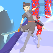 Samurai Girl Run 3D MOD APK