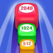 2048 Rush 3D: Number Puzzle Game