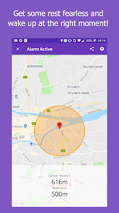 Don't miss the stop (Location Alarm / GPS Alarm)