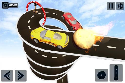 Impossible GT Car Driving Tracks: Big Car Jumps apkpoly screenshots 3