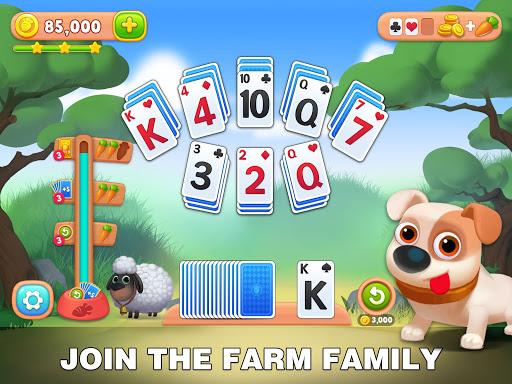 Solitaire Farm: Classic Tripeaks Card Games  screenshots 13