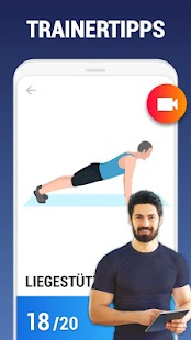 Workouts zuhause - ohne Geräte Screenshot