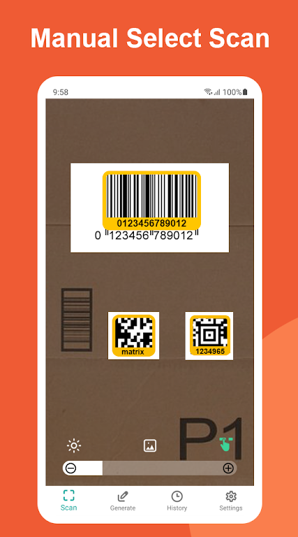 QR and Barcode Scanner  poster 1