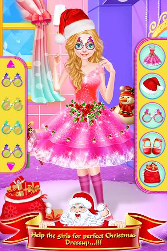 Christmas Girls Makeup & Hair Salon DressUp Games 1.0.18 screenshots 2