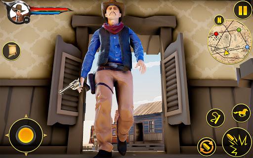 Cowboy Horse Riding Simulation apktram screenshots 6