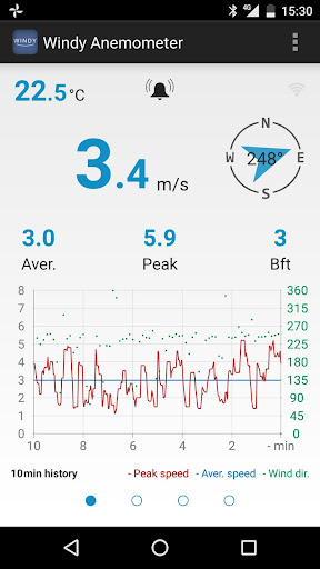 Windy Anemometer 2.0.1 Screenshots 1