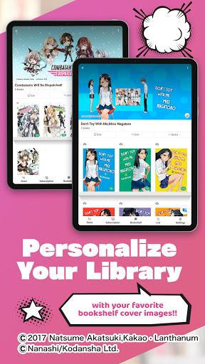 BOOKu2606WALKER - eBook App For Manga & Light Novels android2mod screenshots 18