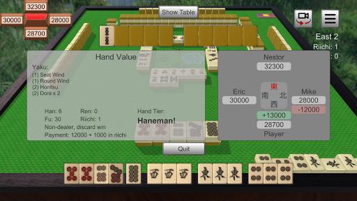 Riichi Mahjong 0.6.0 screenshots 4