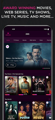 Download ZEE5: Movies, TV Shows, Web Series, News mod apk 2
