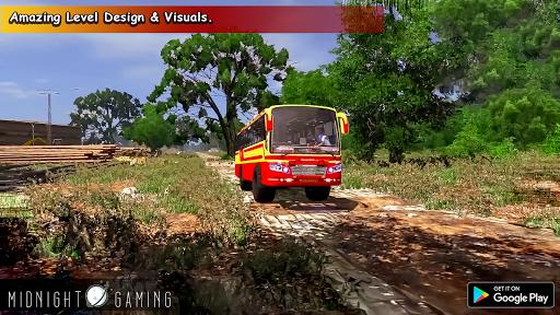 Offroad Coach Simulator : Offroad Bus Games 2021  screenshots 5