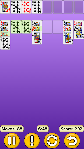 FreeCell 1.17 screenshots 3