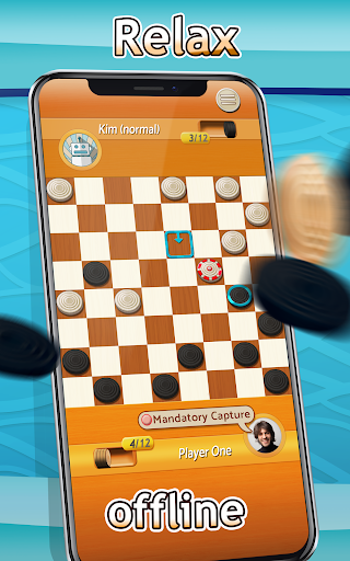 Checkers - Draughts Multiplayer Board Game 3.0.9 screenshots 7