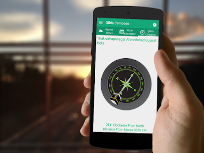Qibla Compass – Prayer Times, Quran MP3 & Azan 4