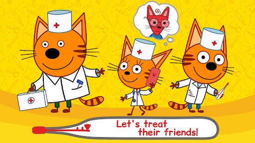 Kid-E-Cats Animal Doctor Games for Kidsu30fbPet Doctor  screenshots 1