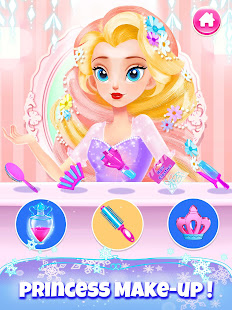Girl Games: Princess Hair Salon Makeup Dress Up 1.9 Screenshots 19