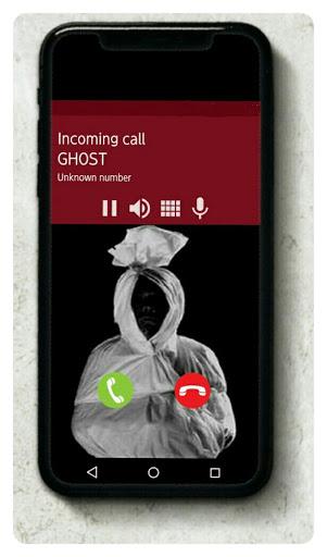 Fake Phone Call  - Pocong screenshots 1