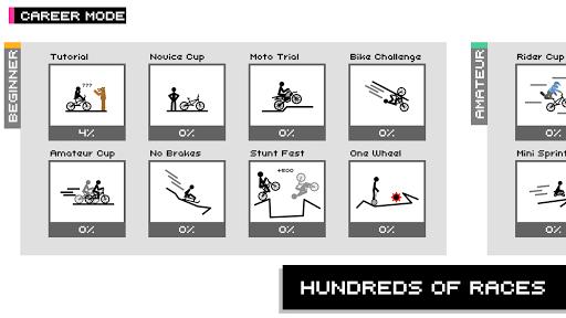 Draw Rider Free - Top Bike Stickman Racing Games  screenshots 18