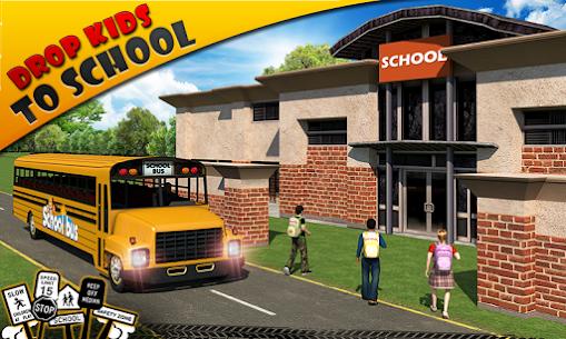 Schoolbus Driver 3D SIM Apk Download 3
