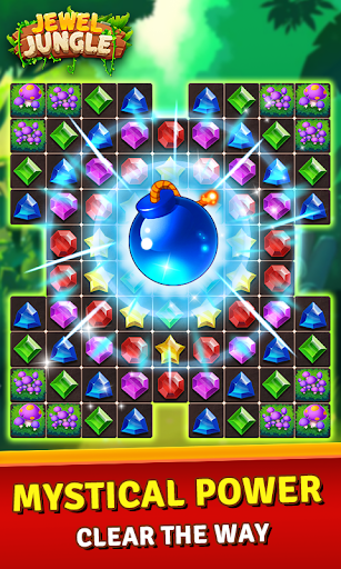 Jewels Jungle Treasure: Match 3  Puzzle 1.7.7 screenshots 3