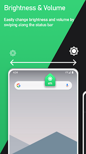 Super Status Bar - Gestures, Notifications & more Screenshot