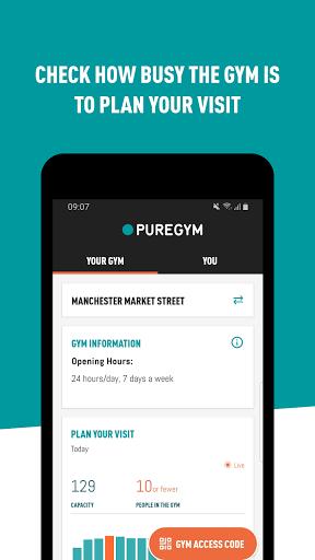 PureGym 3.1.9397 Screenshots 1