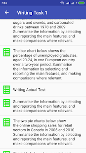 IELTS Skills (Speaking + Writing) Screenshot
