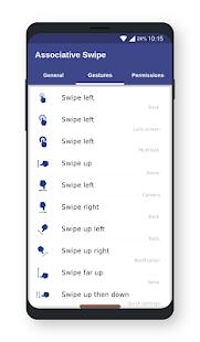 Associative Swipe (Home button)