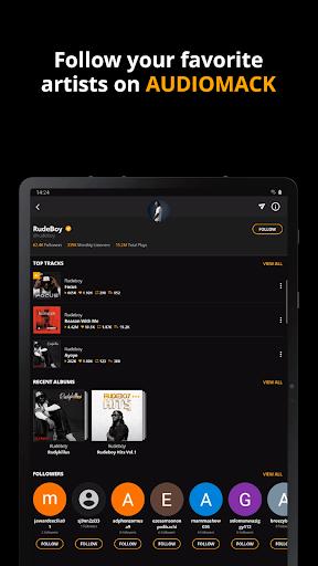 Audiomack: Download New Music Offline Free apktram screenshots 10