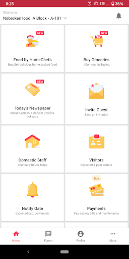 NoBrokerHood Visitor, Society & Accounting System screenshots 1
