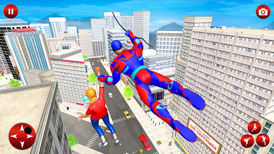 Fliegender Superheld Robot Speed ​​Hero Screenshot