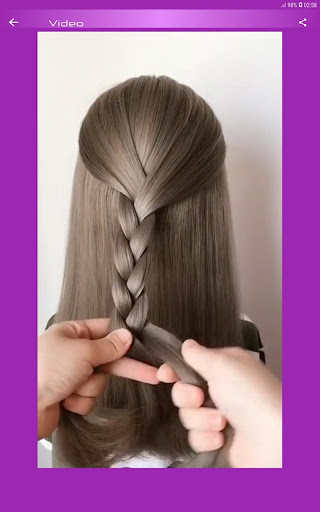 Hairstyles Step by Step Videos (Offline) 1.6.1 Screenshots 4