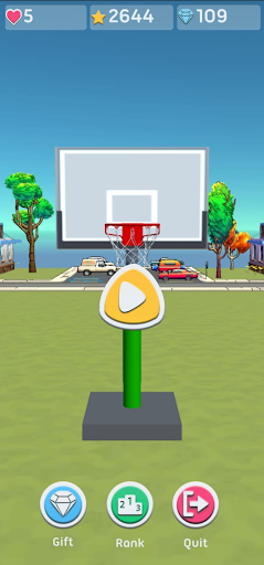 Basketball 3D Shooting screenshots 1